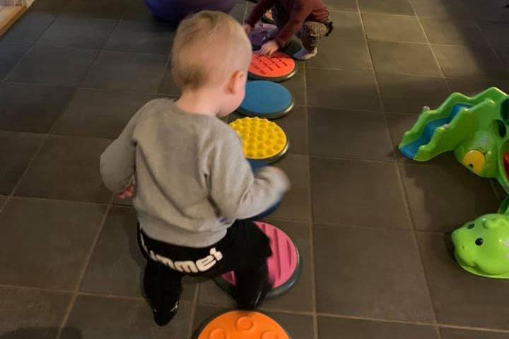 Privat børnepasning - Motorikken bedres gennem leg